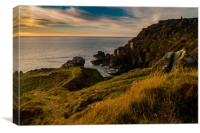 Wheals of Cornwall, Canvas Print