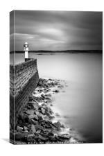 lighthouse at Penzance, Canvas Print