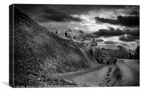 Penndennis castle, Canvas Print