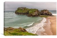 St Catherine's Island, Tenby, Canvas Print
