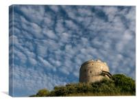 Mount Batten Tower, Canvas Print