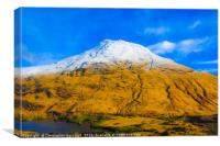 The Mountains of Glen etive, Canvas Print