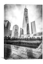 Ground Zero Memorial, Canvas Print