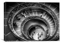 Vatican Spiral, Canvas Print