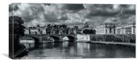 River Tiber, Canvas Print