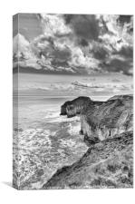Flamborough Head, Yorkshire, Canvas Print