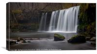 Welsh Waterfall , Canvas Print