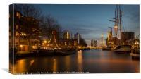 Port of Rotterdam, Canvas Print