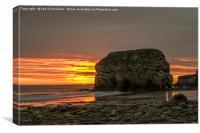 Marsden Bay Sunrise, Canvas Print