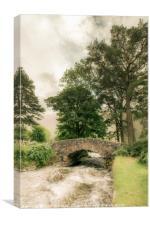 Wastwater Stream, Canvas Print