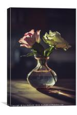 Still Life Roses, Canvas Print