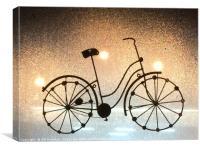 Funky bike , Canvas Print