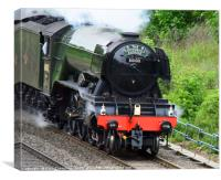 A3 Class 60103 Flying Scotsman, Canvas Print