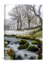 A winters day, Canvas Print