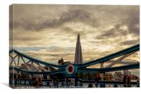 The Tower and The Shard, Canvas Print