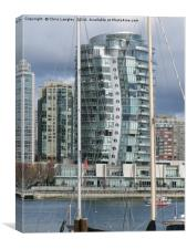 Erickson Building,  False Creek, Vancouver, Canada, Canvas Print