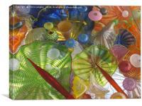 Art Glass - Underwater 1, Canvas Print