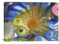 Art Glass - Underwater 2, Canvas Print