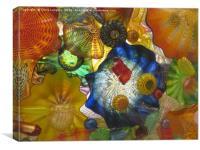 Art Glass - Underwater 6, Canvas Print