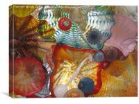 Art Glass - Underwater 7, Canvas Print