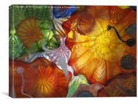 Art Glass - Underwater 11, Canvas Print