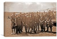 Australian Flying Corps, France 1918, Canvas Print