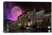 Spacey Metropolitan Museum, Canvas Print
