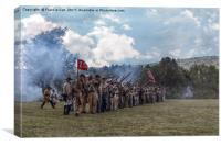 Confederate Soldiers , Canvas Print