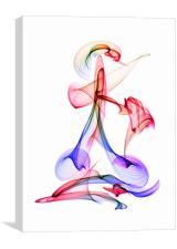 Acrobat, Canvas Print
