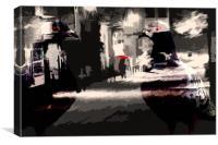 City pigeons , Canvas Print
