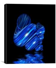 Blue Mussel, Canvas Print