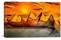 Sahara, Canvas Print