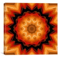 Mandala peace of mind , Canvas Print