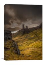 The Old Man of Storr 3, Canvas Print