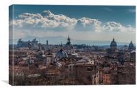 Rome Italy, Canvas Print