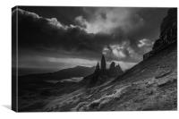 The Old Man of Storr , Canvas Print