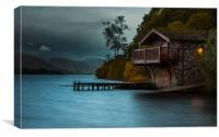 Duke of Portland Boathouse, Canvas Print