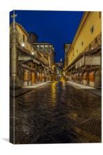 Ponte Vecchio , Canvas Print