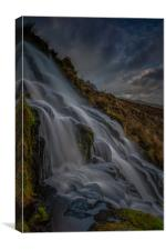 Brides Veil Waterfall, Canvas Print