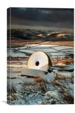 Stanage Millstones #2, Canvas Print