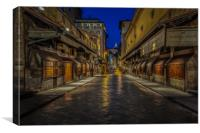 The Ponte Vecchio, Canvas Print