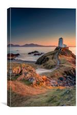 Twr Mawr  Sunset, Canvas Print