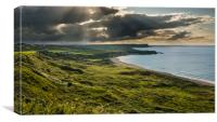 Whitepark Bay, Canvas Print
