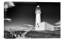 Flamborough Lighthouse, Canvas Print
