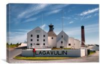Lagavulin Distillery, Isle of Islay, Canvas Print