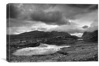 The Lochan, Isle of Harris, Canvas Print