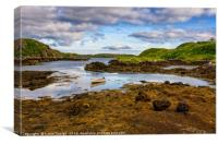 Tide Out on Scalpay, Canvas Print