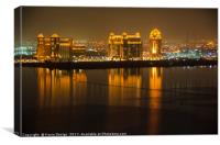 Luxury Living, Doha, Qatar, Canvas Print