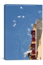Malta: Let's celebrate, Canvas Print