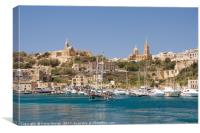 Mġarr Harbour, Gozo, Canvas Print